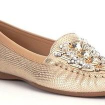 New 98 Designer Nurture Claireed Blush/sandgold Moccasins Loafers Size 7.5 Photo