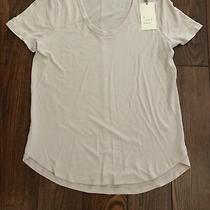 New a New Day Target Womens Blush Short Sleeve Basic Shirt Size Xs 0 2 Photo