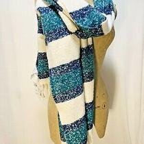 New Abercrombie & Fitch. Men's or Women's Stripes Scarf/wrap.  O/s  Price 38 Photo