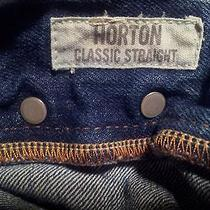 New Abercrombie & Fitch Rollins Horton Distressed Blue Jeans 32 X 32 Fast Ship Photo