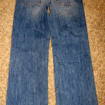 New Abercrombie Kids Low Rise Kilburn Boot Cut Jeans - Boys 16 Photo