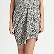 New Acne Studios Sweden Draped Print Dress Eu 40 Us 8 Photo