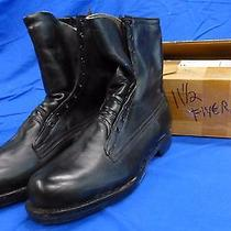 New Addison Insulated Motorcycle Flight Pilot Leather Boots Sz 11.5 C Usa Made Photo