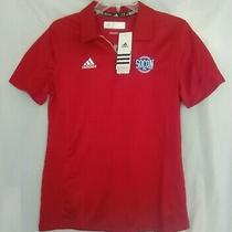 New Adidas Climalite Adiselect Polo Shirt Socon Southern Conference Red Womens M Photo