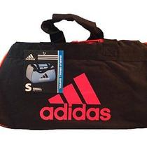 New Adidas Diablo Ii Small Duffel Bag Black Orange Red Free Shipping Photo