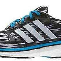 New Adidas Energy Boost 2 Mens Size 11 Running Shoes Blue White Black Camo Glide Photo