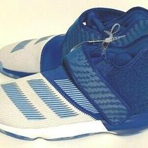 New Adidas James Harden B/e 3 Blue Basketball Sneakers Ef5295 Men's Size 7.5 Photo