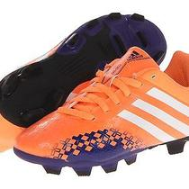 New Adidas Kids Predito Shoes Sneakers Cleats Soccer Orange Girl Boy 4 Youth  Photo