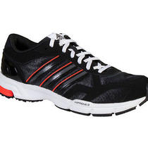 New Adidas Men's Marathon 10 Ng Running Shoes Black/solar Red 12 Photo