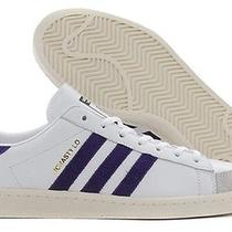 New - Adidas Men's Mcnasty Hot Shot 84-Lab G96738 White/purple Shoes - 8.5 Photo