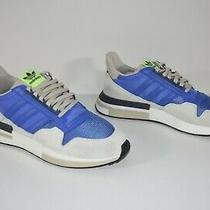 New Adidas Mens Size 12 Shw 675001 Blue White Shoes Sneakers Three Stripes Photo