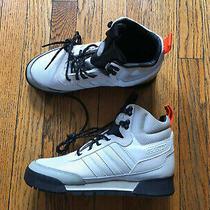 New Adidas Originals Baara Cream White Black Orange Boot Ee5526 Men's 7 Photo