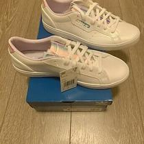 New Adidas Originals Sleek (Womens Size 9) Athletic Sneaker Shoe White Photo