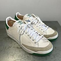 New Adidas Rod Laver Tennis Sneakers White Green Discontinued 11.5 Photo