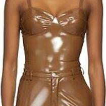 New Adidas X Ivy Park Brown Latex Corset Bodysuit H190005 Xs- Confirmed Order Photo