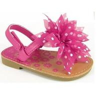 New Adorable Toddler Girl Natural Steps Sandals Size 9  Photo