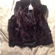 New Adrienne Landau Rabbit Fur Vest Photo
