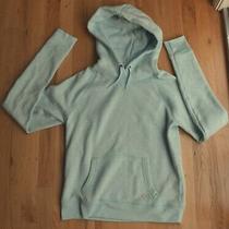 New Aeropostale Live Love Dream Hoodie Sweatshirt (L) Baby/mint Blue Photo