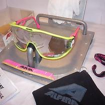 New Alpina Swing Rare Super-Bike Randy Savage Carrera Vintage Sunglasses Germany Photo