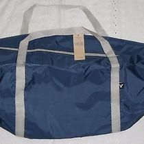New American Eagle Navy Duffle Gym Bag Tote Unisex 20