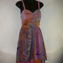 New American Rag Cie High Low Dress Size Small Silky Polyester Usa Seller Photo