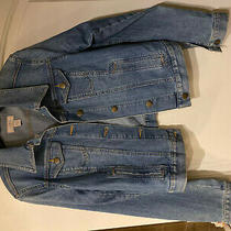 New Ann Taylor Loft Jean Jacket Very Cute Size M Photo