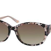 New Anne Klein Ak7034 Sunglasses 605 Blush Tortoise