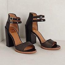 New Anthropologie Carcavas Heels by Dolce Vita 7.5 Black Shoes Photo
