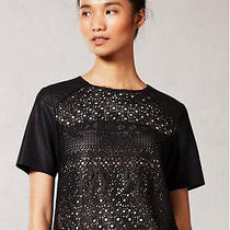 New Anthropologie Pelle Vegan Leather Top by Dolce Vita Xsp Photo