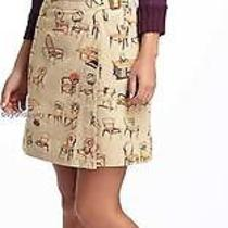 New Anthropologie Postmark Chairs Canvas Wrap Skirt  Size 4-6-8-10 Photo