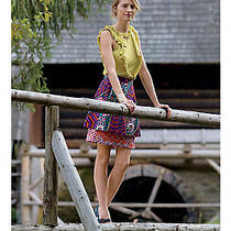 New Anthropologie Spis Petticoat Mini Skirt by Odille Sz 10 Photo