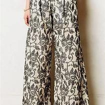 New Anthropologie Terre Wide-Legs Sz 2 4 Size S Pants by San & Soni Photo