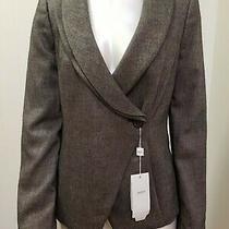 New Armani Collezioni Brown Blazer-Jacket Size 10 Photo