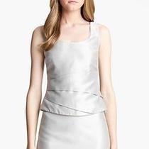 New Armani Collezioni Taffeta Top & Skirt Suit 6 Photo