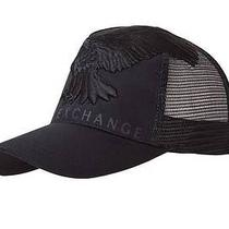New Armani Exchange Ax Mens Eagle Trucker Hat Cap Photo