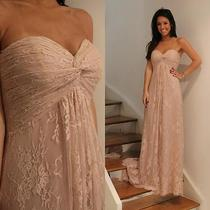 New Arrival 2017 Blush Pink Pregnant Lace Wedding Dress Bridal Ball Gown Custom Photo