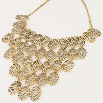 New Arrive Fashion Women's Beautiful Antique Gold Bib Necklace Fc-A1448 Photo