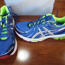 New Asics Gel-Exalt Running Shoes Mens 8 Blue/white/red T329n 85. Photo