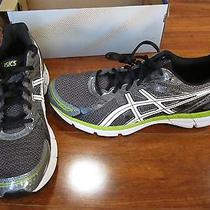 New Asics Gel-Excite 2 Running Shoes Mens 9.5 Carbon/limeade T423n 7401 70. Photo