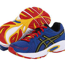 New  Asics Kids Gel-Excite Shoes Sneakers Boots Royal Blue Boy 3 Youth Fit 2  Photo