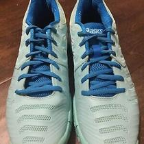 New Asics Womens Gel-Dedicate Blue Running Shoes E557y Size 10 Photo