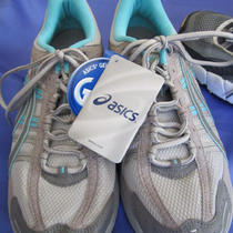 New  Asics Womens Running Shoes Gel Kahana 2  Grey/aqua  Size 9  New   Photo