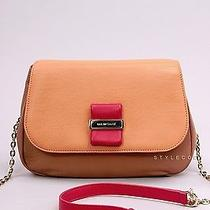 New Auth 395 See by Chloe Orange Apricot Leather Small Shoulder Bag Stylecody Photo