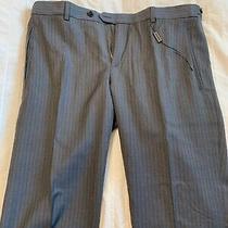 New Auth Burberry Men Soames Dress Casual Pants Virgin Wool Gray 32r 48r 395 Photo