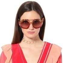 New Auth Fendi Tropical Shine Pink Gold Sunglasses Ff 0316/s C483x W/case -Italy Photo
