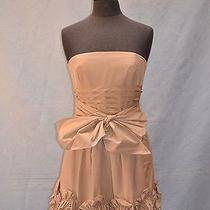 New Authentic Bcbg Maxazria Strapless Corset Dress Size 8 Photo