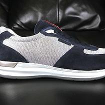 New Authentic Blue Prada Mens Shoes Fashion Sneakers Casual Sport Sz Us11 Eu44 Photo