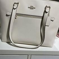 New Authentic Coach Gallery Tote Leather Handbag Photo