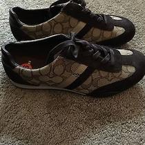 New Authentic Coach Ladies Fashion Sneakers Shoe Size 9.5 Photo