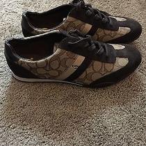 New Authentic Coach Ladies Fashion Sneakers Shoe Size 9 Photo